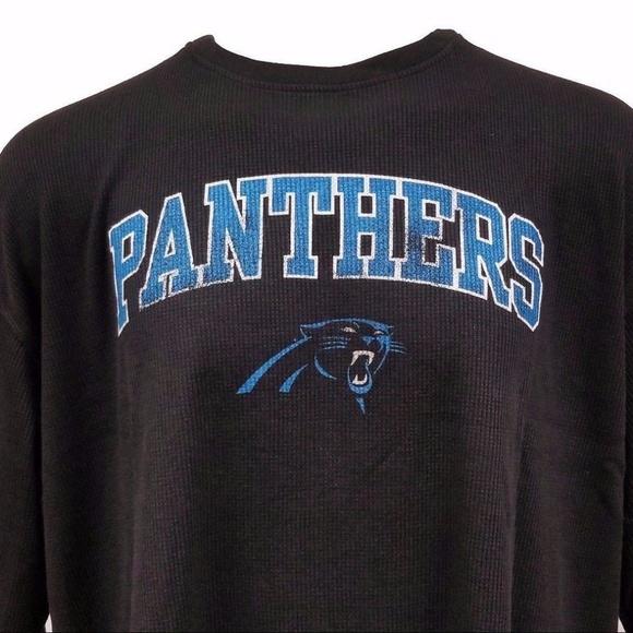 cb0e52b5 NFL Shirts | Carolina Panthers Long Sleeve Thermal Shirt | Poshmark